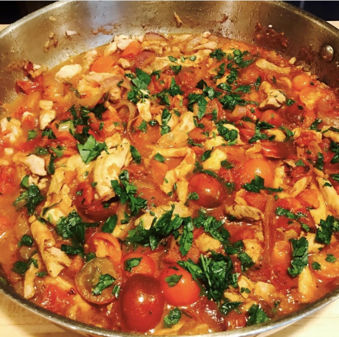 Berbere Spiced Stir Fry