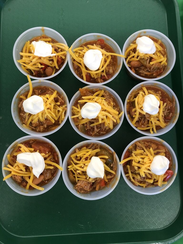 Smoky BBQ Pork Chili