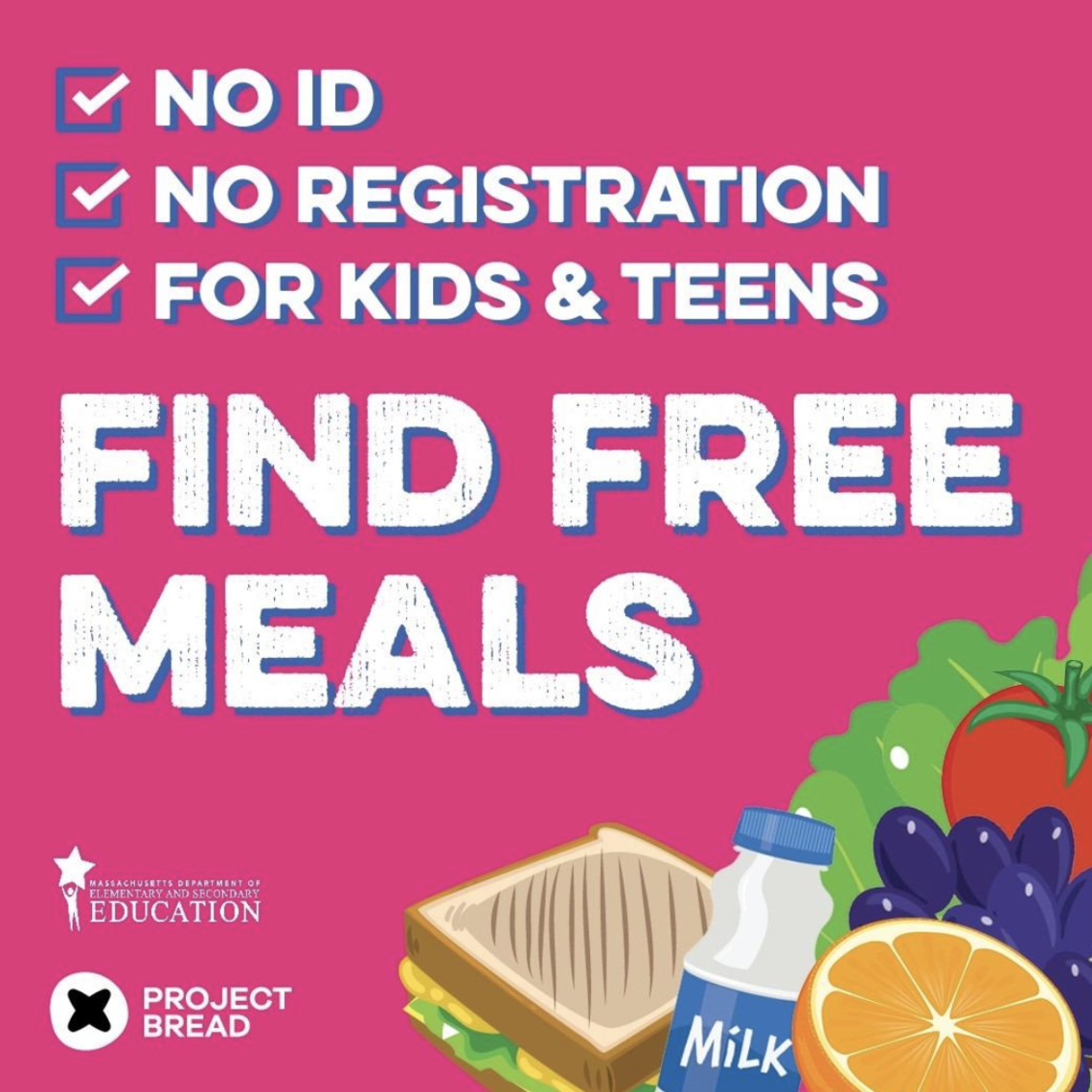 Find free meals for kids